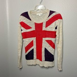 Union Jack British Design Light weight Sweater